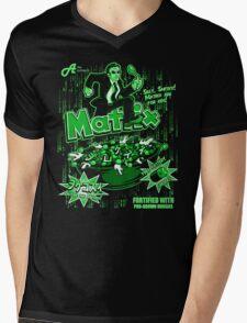 Matrix Cereal (Black Ed) Mens V-Neck T-Shirt