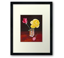 Roses for Love Framed Print