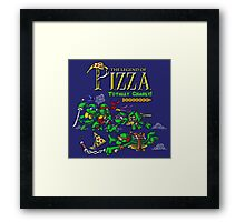 The Legend of Pizza! Framed Print