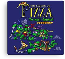The Legend of Pizza! Canvas Print