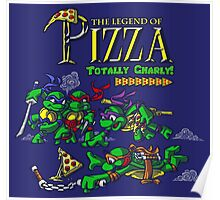 The Legend of Pizza! Poster
