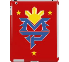 Manny Pacquiao Logo Tee - The Fight  iPad Case/Skin