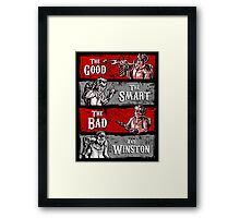 Ghost Wranglers (with Winston) Framed Print