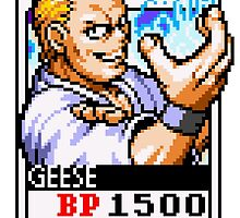 Geese Howard by Lupianwolf
