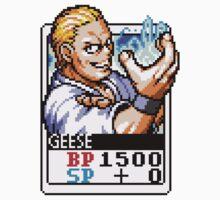 Geese Howard One Piece - Long Sleeve