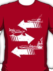 Time Distorted Minimalism T-Shirt