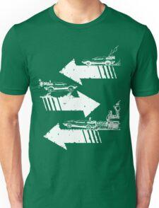 Time Distorted Minimalism Unisex T-Shirt