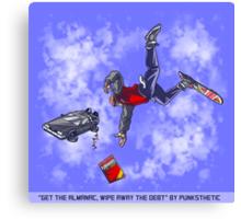 Get the Almanac, wipe away the debt (Daytime Alt) Canvas Print