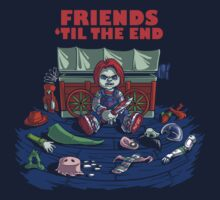 Friends 'Til The End One Piece - Short Sleeve