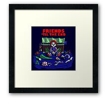 Friends 'Til The End Framed Print
