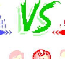 Super 80's Good Vs. Evil! Sticker