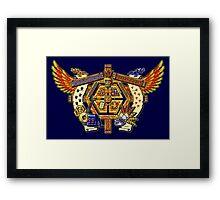 Treasure Hunters Crest Framed Print