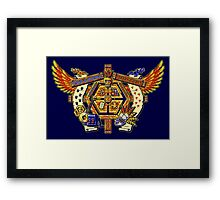 Treasure Hunters Crest Framed Print