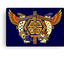 Treasure Hunters Crest Canvas Print