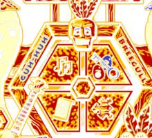 Treasure Hunters Crest Sticker