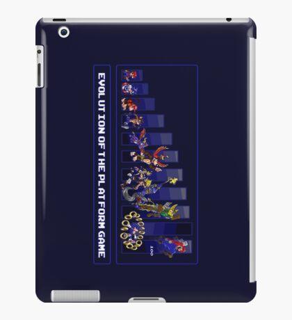 Evolution of the Platform Game iPad Case/Skin