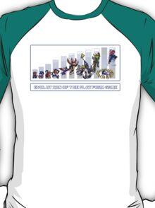 Evolution of the Platform Game T-Shirt