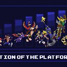Evolution of the Platform Game by Punksthetic