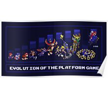 Evolution of the Platform Game Poster
