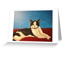 Momo the Cat Greeting Card