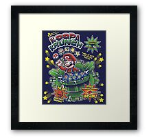 Koopa Krunch! Framed Print
