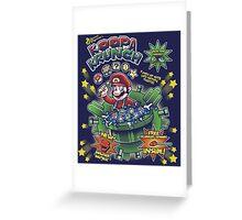 Koopa Krunch! Greeting Card