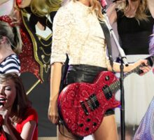 The Red Tour Sticker