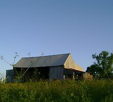 Country Barn by reflector