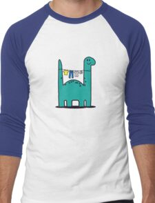 Washinglineasaurus Men's Baseball ¾ T-Shirt