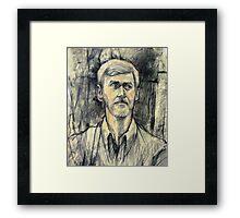 Portrait of Trevor Framed Print