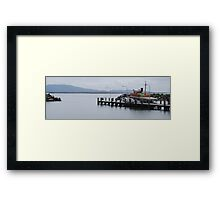 Reemere resting at Crowdy Harbour Framed Print