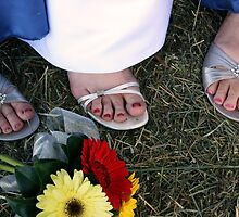 Wedding Toes by Rachel Wyllie