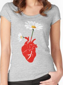 A Growing Heart Women's Fitted Scoop T-Shirt