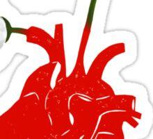 A Growing Heart Sticker