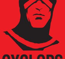 Cyclops Was Right Sticker