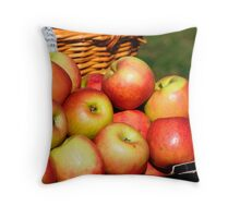 Apple store Throw Pillow