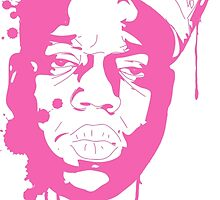 Biggie Smalls / Pink by Ryan Williams