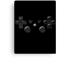Playstation 3 Game Controller Canvas Print