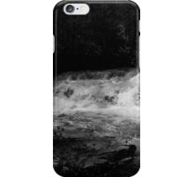 Dismal Falls in B&W  with video iPhone Case/Skin