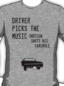 Diver picks the music T-Shirt