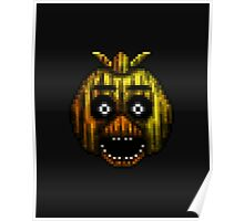 Five Nights at Freddy's 3 - Pixel art - Phantom Chica Poster