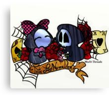 Lil Grim Reapers True Love Never Dies Canvas Print