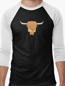 Moo Men's Baseball ¾ T-Shirt