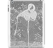Yoga Flamingo iPad Case/Skin