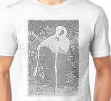 Yoga Flamingo Unisex T-Shirt