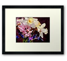 April... by the glassful Framed Print