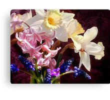 April... by the glassful Canvas Print
