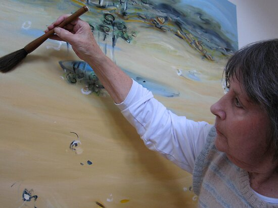 The way of the brush: Chan painter Melba Nielsen by rani