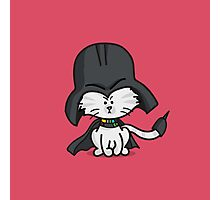Darth Kitty Photographic Print