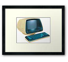 Retro Computer Framed Print